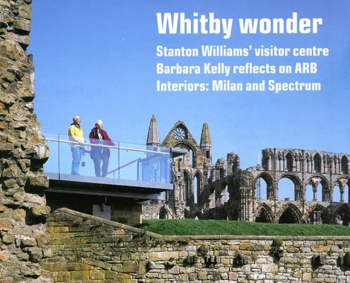 1. Architects' Journal - Whitby Abbey Visitors Centre by Stanton Williams