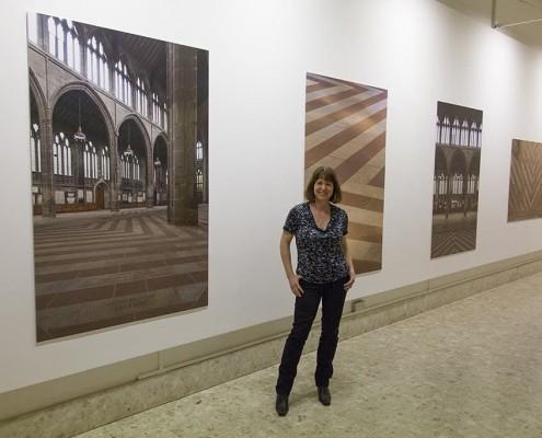 11. Tess Jaray retrospective at Lakeside Arts Centre