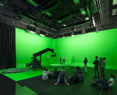 13. TV Studio, Parkside, Birmingham City University - Associated Architects
