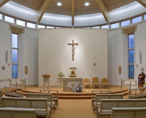 14. St.Anne's Convent Chapel, Lonodn - Daniel Hurd Architects