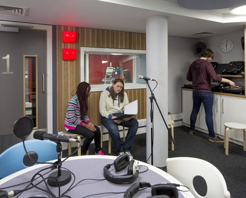 16. Chapel FM Radio, Leeds - Groundworks Architects
