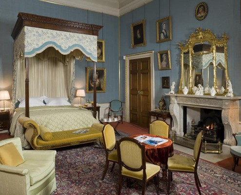 17. Bedroom, Althorp, Northamptonshire