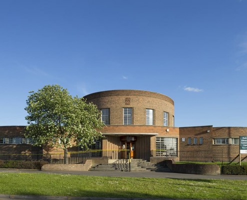 2. Southfields Library, Leicester - restoration by Purcell Architects