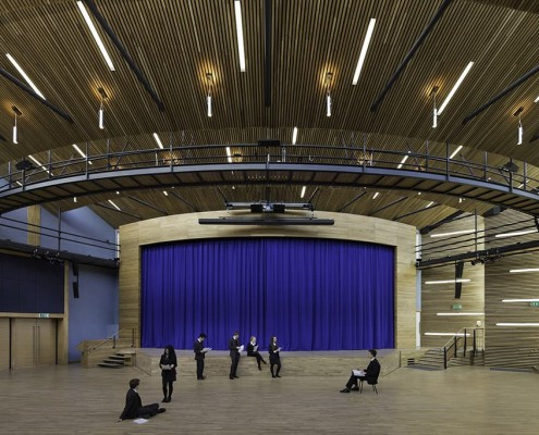 4. Yarm School Theatre - Associated Architects