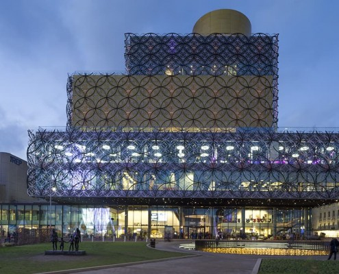5. Bimingham Library - Mecanoo Architects